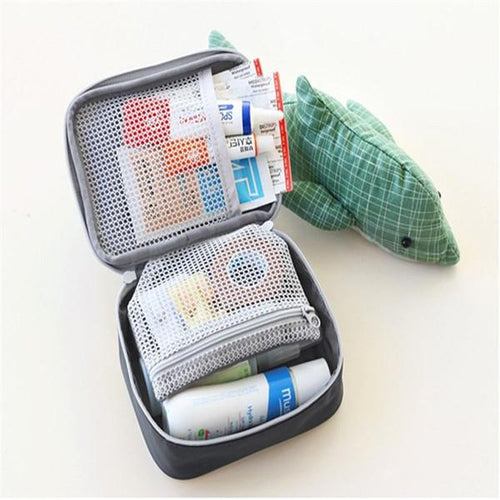 Medicine Outdoors Camping Hunt Pill Storage Bag Travel Survival Kit