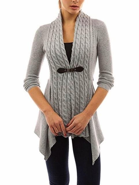 Fantastic Women Long Sleeve Sweater Casual Knitted Cardigan Outwear
