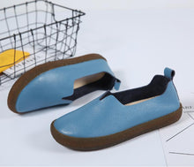 Load image into Gallery viewer, Big Size Pure Color Slip on Tod's Comfortable Flat Loafers Artificial Leather