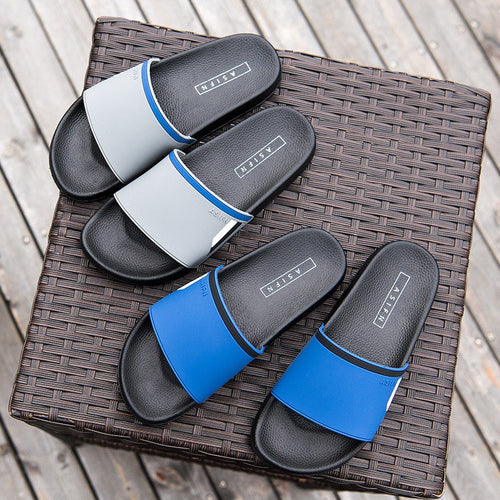 Men Opened Toe Soft Slip On Slipepr Casual Beach Water Shoes