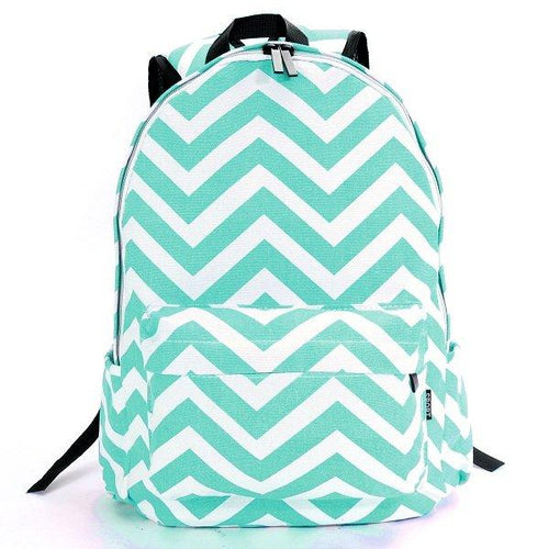 Sweet Color Convas Backpack School Backpack