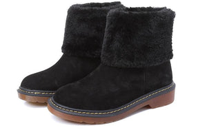 Female Winter Shoes Fur Warm Snow  Ankle Boots