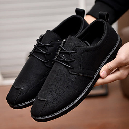 Summer Men Lazy Shoes Black Dark Blue Men Casual Pu Leather Loafers Comfortable Driver Shoes Mens Designer Hollow Outs Shoes Refreshment Men's Casual Shoes