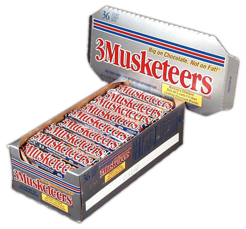 3 MUSKETEERS - 36CT/BOX