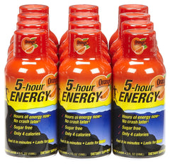 5-hour ENERGY DISPLAY - ORANGE - 12CT/BOX