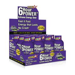 6-hour POWER DISPLAY - GRAPE - 12CT/BOX
