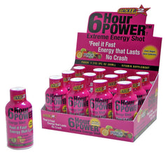 6-hour POWER DISPLAY - PUNCH - 6CT/2PK/BOX