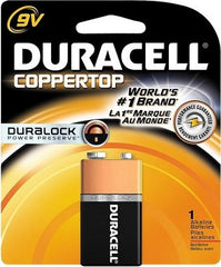 DURACELL - 9V COPPERTOP USA -