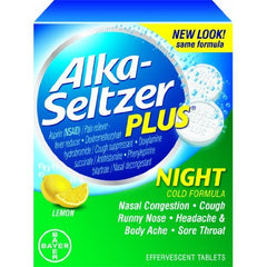 ALKA SELTZER PLUS POWDER 12/6CT - NIGHT TIME