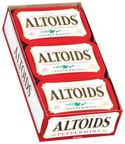 ALTOIDS - PEPPERMINT - 12CT/BOX