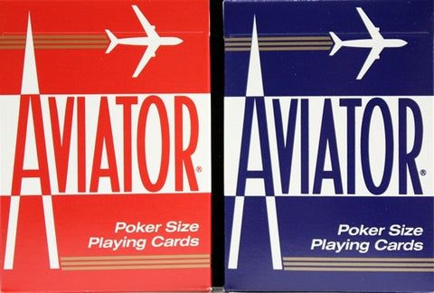 AVIATOR PLAYING CARDS - 12CT/BOX