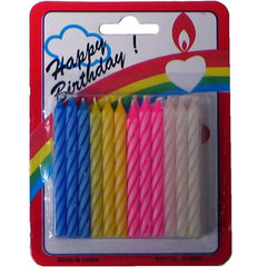 BIRTHDAY CANDLES - 24CT/BOX