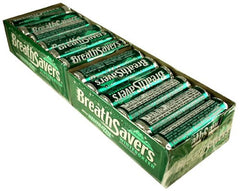 BREATH SAVERS - WINTERGREEN - 24CT/BOX