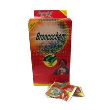 BRONCOCHEM - COLD & FLU BOX - 50CT/2PK/BOX
