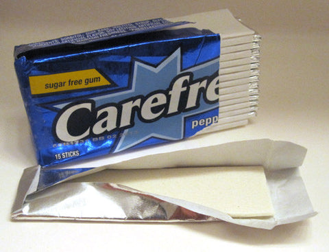 CAREFREE - PEPPERMINT - 10CT/BOX