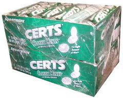 CERTS CLASSIC MINTS - SPEARMINT - 24CT/BOX
