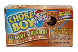 CHORE BOY - SCOURING PAD - 36CT/BOX