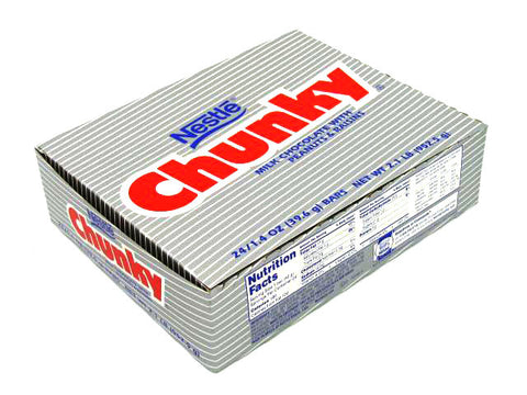 NESTLE - CHUNKY BAR - 24CT/BOX
