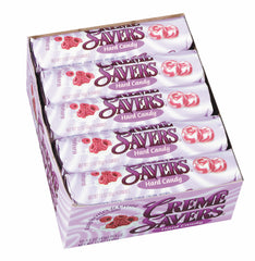 CREME SAVERS - RASPBERRIES & CREME - 20CT/BOX
