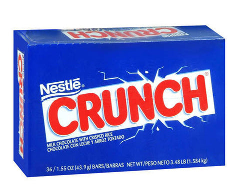 NESTLE - CRUNCH BAR - 36CT/BOX