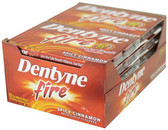 DENTYNE ICE - SPICY CINNAMON GUM - 12CT/BOX