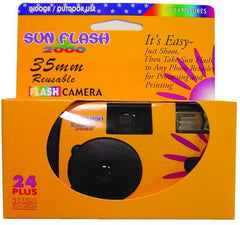 DISPOSABLE CAMERA W/FLASH