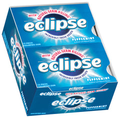 ECLIPSE - PEPPERMINT GUM - 12CT/BOX