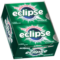ECLIPSE - SPEAREMINT GUM - 12CT/BOX