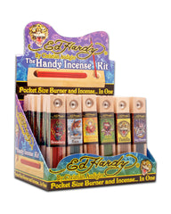 ED HARDY - INCENSE HANDY KIT - 36CT/DISPLAY