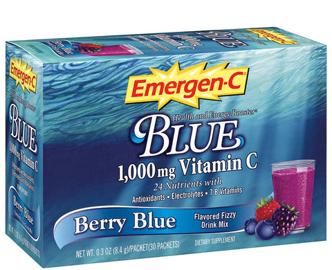 EMERGEN-C - DIETARY SUPPLEMENT - BERRY BLUE