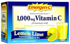 EMERGEN-C - DIETARY SUPPLEMENT - LEMON LIME