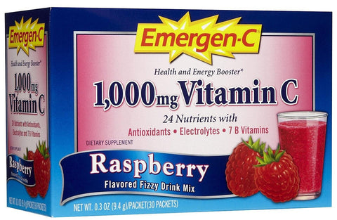 EMERGEN-C - DIETARY SUPPLEMENT - RASPBERRY