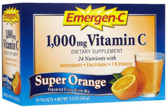 EMERGEN-C - DIETARY SUPPLEMENT - SUPER ORANGE