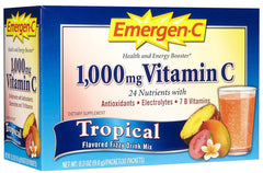 EMERGEN-C - DIETARY SUPPLEMENT - TROPICAL