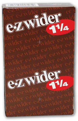 EZ WIDER - CIGARETTE PAPER 1.25 - 24CT/DISPLAY