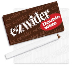 EZ WIDER - DOUBLE WIDE CIGARETTE PAPER - 50CT/DISPLAY