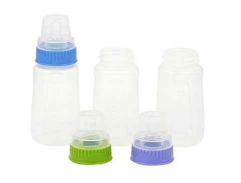 GERBER - BABY BOTTLE CLEAR 5OZ - 6CT/UNIT