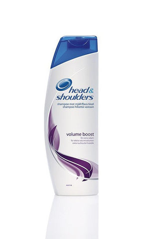 HEAD & SHOULDERS - VOLUME BOOST SHAMPOO 400ML (14.2OZ) - 6CT/UNIT