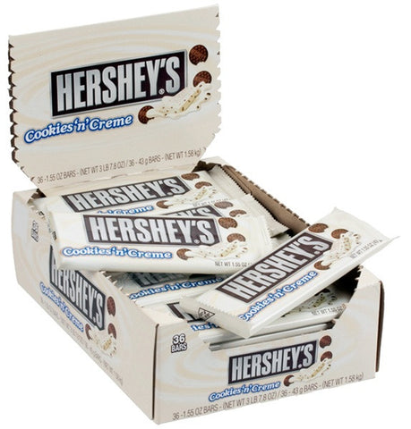 HERSHEY'S - COOKIE & CREME - 36CT/BOX