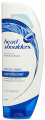 HEAD & SHOULDERS - CLASSIC CLEAN CONDITIONER 13.5OZ - 6CT/UNIT