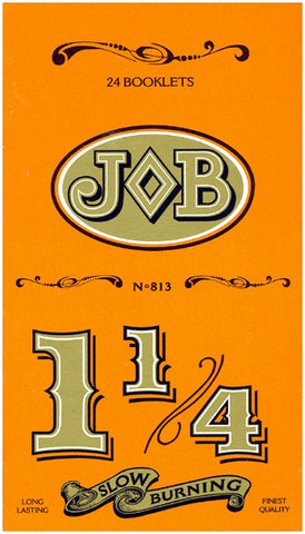 JOB - SLOW BURNING CIGARETTE PAPER 1.25 - 24CT/DISPLAY