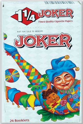 JOKER - CIGARETTE PAPER 1.25 - 24CT/DISPLAY