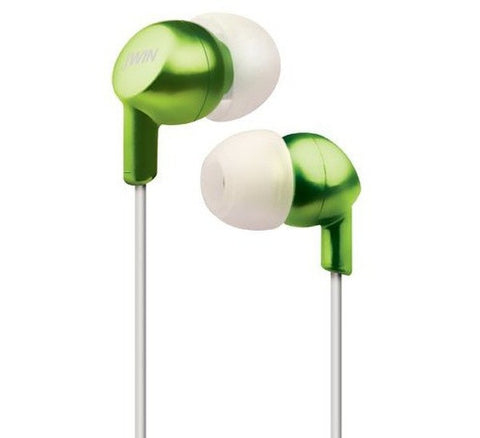 JWIN - STEREO HEADPHONES - JHE21 - GREEN
