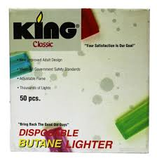 KING - LIGHTERS - 50PC/BOX
