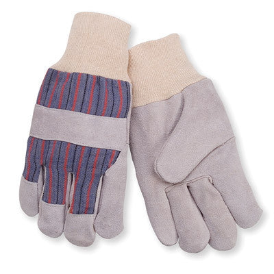 GLOVES - LEATHER PALM HEAVY DUTY - 12CT/PACK