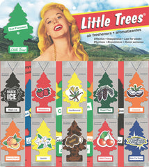 LITTLE TREES - CAR FRESHENER - 48CT/DISPLAY