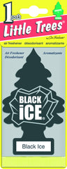 LITTLE TREES - CAR FRESHENER - BLACK ICE 1-PACK - 24CT/BOX