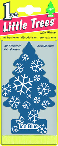 LITTLE TREES - CAR FRESHENER - ICE BLUE 1-PACK - 24CT/BOX