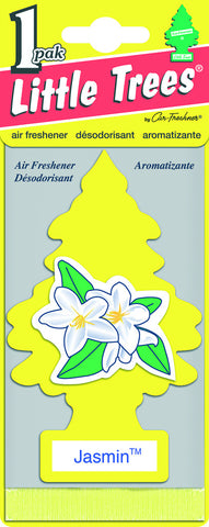 LITTLE TREES - CAR FRESHENER - JASMIN 1-PACK - 24CT/BOX