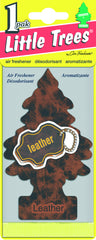 LITTLE TREES - CAR FRESHENER - LEATHER 1-PACK - 24CT/BOX